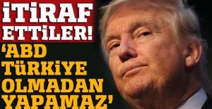 Trump yönetiminden Türkiye itirafı: Başka altarnatif yok