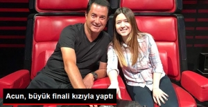 Acun Ilıcalı, O Ses Türkiye'nin Finalini Kızı Banu ile Yaptı