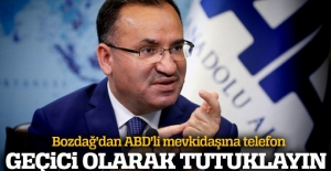 Adalet Bakanı Bozdağ, ABD'li mevkidaşı ile görüşüp, Gülen'in iadesini istedi