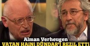 Alman Verheugen, Türkiye'ye iftira atan Dündar'ı rezil etti