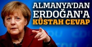 Almanya'dan Erdoğan'a 'Nazi' cevabı