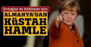 Almanya'dan Erdoğan ve hükümet için küstah hamle
