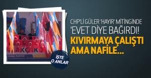 CHP'li Başkan 'Hayır' otobüsünden 'Evet' dedi