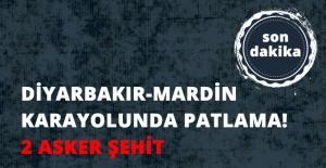 Diyarbakır- Mardin Karayolunda Mayın...