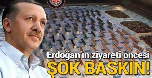 Erdoğan'ın ziyareti öncesinde Sur'da silah ve mühimmat bulundu