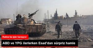 Esad Rejimi Güçleri Rakka Yolundaki Son Engeli Aştı