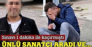 Haluk Levent, YGS'yi 1 dakika ile kaçıran gence yardım etti
