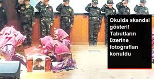 İstanbul'da Tepki Çeken Gösteri: İlkokul Çocuklarını Şehit Edip Tabuta Koydular