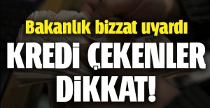 Kredi mağduru vatandaşlara uyarı!