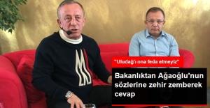 Orman ve Su Işleri Bakanlığı'ndan Ağaoğlu'na Çok Sert Tepki