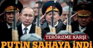 Putin'den Orta Asya'daki Rus üslerine ziyaret
