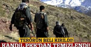 Türk jetlerinden kaçan PKK, Kandil'i terk edip Mahmur'a yerleşti