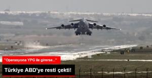 Türkiye'den İncirlik Resti! ABD Uçaklarının Kalkmasına İzin Verilmeyecek