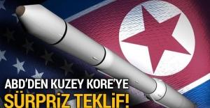 ABD'den Kuzey Kore'ye nükleer müzakere teklifi!
