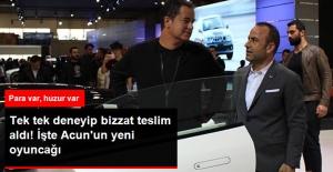 Acun Ilıcalı, Katıldığı İstanbul Autoshow'da Aracını Bizzat Teslim Aldı