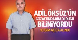 Adil Öksüz'ün gözaltında kim olduğu biliniyordu