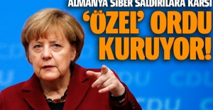 Almanya siber saldırılara karşı ordu kuruyor!
