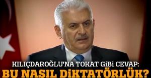 Başbakan Yıldırım'dan Kılıçdaroğlu'na tokat gibi cevap