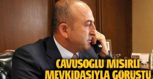Çavuşoğlu Mısır Dışişleri Bakanı'yla görüştü