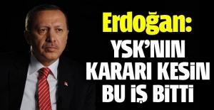 CHP'nin referandum itirazına Erdoğan'dan cevap