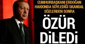 Cumhurbaşkanı Erdoğan hakkında söylediği...