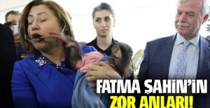 Fatma Şahin'in zor anları!