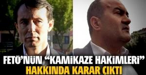 FETÖ'cü hakimler Metin Özçelik ile Mustafa Başer için karar verildi