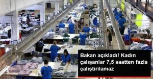 Gece Vardiyasında Çalışan Kaınlara 7,5 Saat Sınırı
