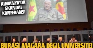 Hamburg Üniversitesi'nde PKK ve Almanlar ortak 'demokrası' paneli yaptı