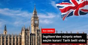 İngiltere'de Sürpriz Erken Seçim Kararı!