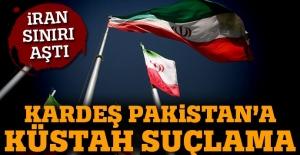 İran'dan Pakistan'a küstah suçlama