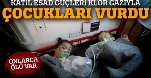 Katil Esad güçlerinden kimyasal katliam: En az 100 ölü var