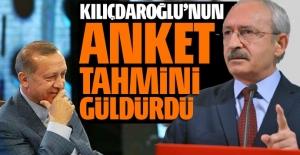 Kılıçdaroğlu'dan güldüren anket tahmini