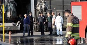 Kimyasal tüpler patladı: 4 işçi zehirlendi
