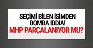 O isimden MHP'yle ilgili bomba iddia! Parçalanacak