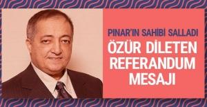 Pınar#039;ın sahibi Selim Yaşar...