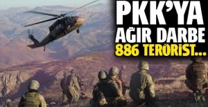 PKK'ya kırsalda ve şehirde ağır darbe