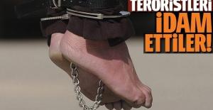 Somali'de teröristleri idam ettiler!