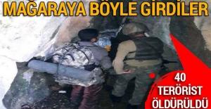 Son dakika: TSK açıkladı! 40 terörist öldürüldü...