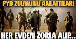 Suriyeliler PYD zulmünü anlattı
