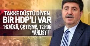 Tan: Kimse yüksek sesle 'PKK yanlış yaptı' diyemiyor