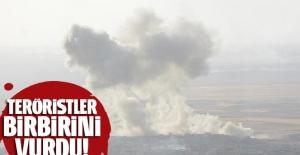 Terör örgütleri birbirine girdi çok sayıda ölü!