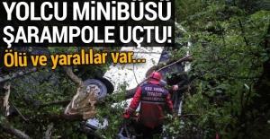 Zonguldak'ta minibüs şarampole uçtu: 10 ölü, 25 yaralı