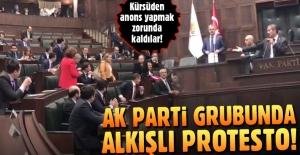 AK Parti grubunda Cumhurbaşkanlığı korumalarına alkışlı tepki