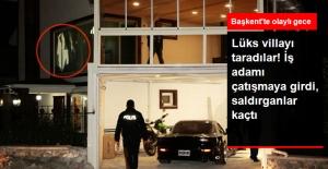Ankara'da İş Adamının Evine Kalaşnikoflu Saldırı!