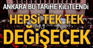 Ankara kulisleri bu tarihe kilitlendi!