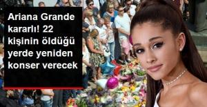 Ariana Grande, Manchester Mağdurları İçin Geri Dönüp Konser Verecek