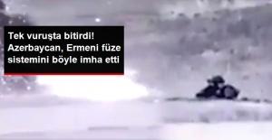 Azerbaycan, Ermenistan'a Ait Hava Savunma Füze Sistemini İmha Etti