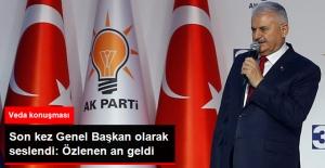 Başbakan Yıldırım, Partililere Son Kez Genel Başkan Olarak Seslendi: Özlenen An Geldi