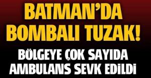 Batman'da patlama: Yaralılar var